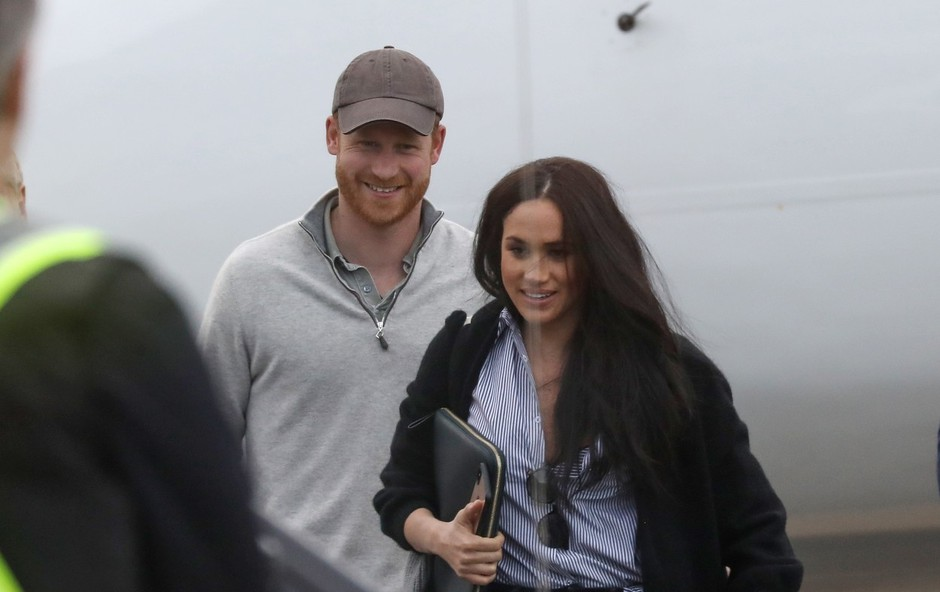Poglejte si, kako sta valentino preživela princ Harry in Meghan Markle (foto: Profimedia)