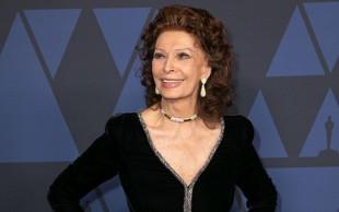 Italijanska oskarjevka Sophia Loren se pri 85 letih vrača na filmska platna