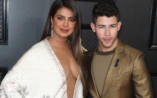 Nick Jonas in Priyanka Chopra sta valentinovo preživela zelo zaljubljeno
