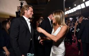 Med Bradom Pittom in Jennifer Aniston znova počilo, zato tudi nista bila skupaj na oskarjih
