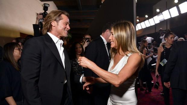 Kaj se dogaja z Bradom in Jennifer? Prijatelji bi ju radi videli skupaj! (foto: Profimedia)