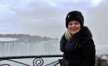 Tanja Zajc Zupan je obiskala znamenite slapove.