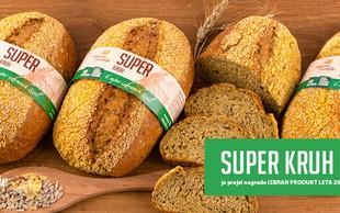 Pekarna Grosuplje prejela nagrado za najbolj inovativno živilo in naziv Izbran produkt leta 2020