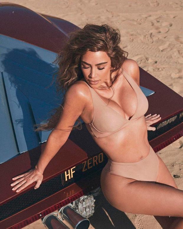 Tako zapeljive Kim Kardashian že nekaj časa nismo videli (foto: Profimedia)