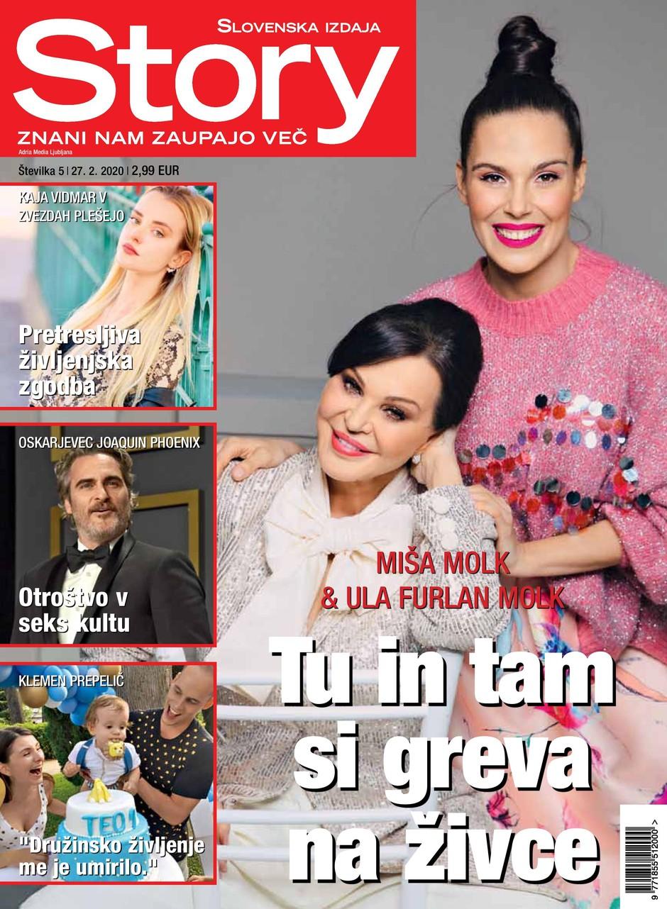 Miša Molk, Ula Furlan (foto: Story)