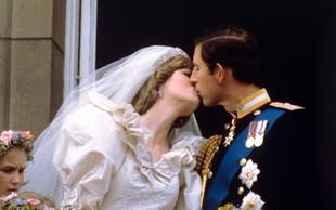 Poljub princese Diane in princa Charlesa, ki se je za vedno zapisal v zgodovino in nato postal tradicija