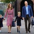 Princ George in princesa Charlotte še naprej  v šoli, nekaj njunih sošolcev zaradi koronavirusa v karanteni