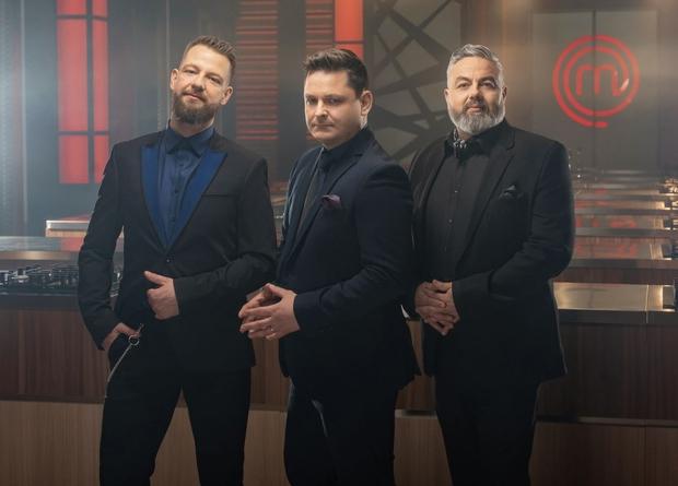 Luka Jezeršek, Karim Merdjadi in Bine Volčič (foto: Tomo Jeseničnik / POP TV)