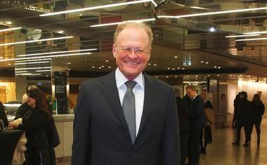 Redni obiskovalec predstav je tudi podjetnik Janez Škrabec.