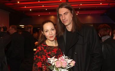 Igralka Iva Babič in igralec Jure Henigman.