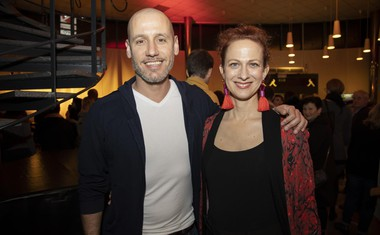 Peter Poles in njegova Nika Veger.
