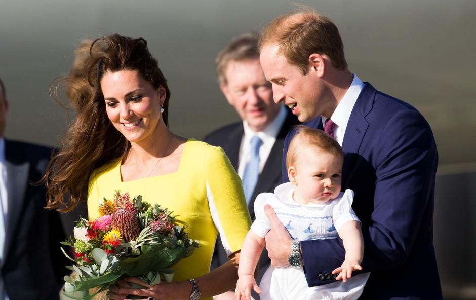 Britanski mediji trdijo, da je Kate Middleton še četrtič noseča in da pod srcem nosi dvojčke (foto: Profimedia)