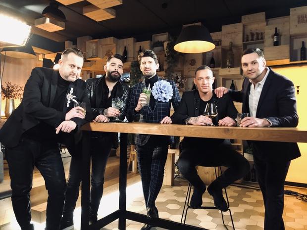 Luka Žvižej, Jani Jugovic, Denis Toplak, Miki Vlahovič, Tomaž Mihelič (foto: Ana Gregorič / POP TV)