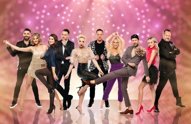 Zvezdniki iz šova Zvezde plešejo zaplesali v dnevnih sobah (foto: Ana Gregorič / POP TV)