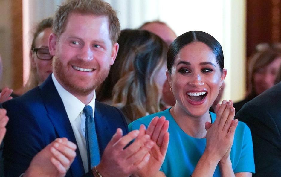 Poglejte si, kako zaljubljena sta bila videti princ Harry in Meghan Markle (foto: Profimedia)