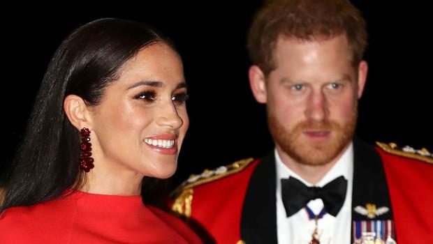 Harry in Meghan dokončno opuščata kraljeve dolžnosti (foto: Profimedia)