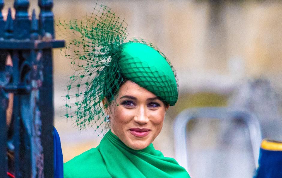 Princ Harry in Meghan Markle sta bila modno usklajena, a to je razkil šele veter (foto: Profimedia)
