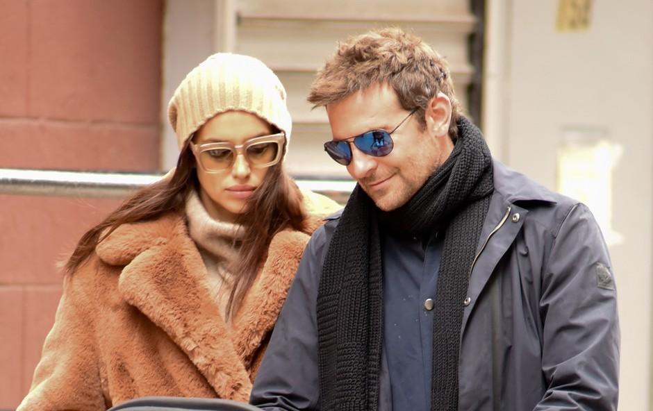 Bradley Cooper in Irina Shayk še vedno veliko časa preživita skupaj, se med njima spet kaj plete (foto: Profimedia)