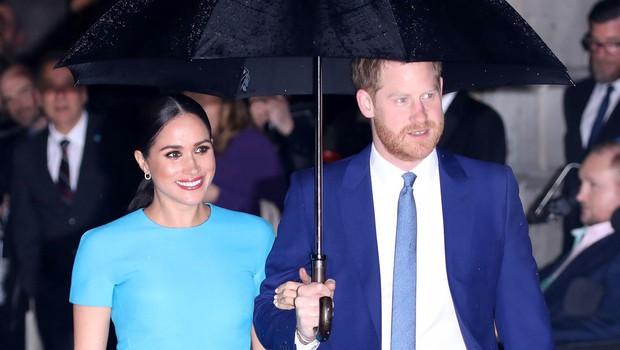 Meghan in Harry sta doživela prijetno presenečenje (foto: Profimedia)