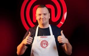 Tekmovalcu šova Jerneju Smolingerju je mama največji navdih za kuhanje