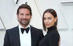 Bradley Cooper ne razmišlja več o razmerju z Irino Shayk, ona pa še vedno noro zaljubljena vanj