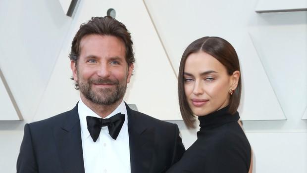 Bradley Cooper ne razmišlja več o razmerju z Irino Shayk, ona pa še vedno noro zaljubljena vanj (foto: Profimedia)