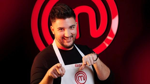 Med tekmovalci v MasterChefu tudi pevec in radijski voditelj Žiga Deršek (foto: Tomo Jeseničnik / POP TV)