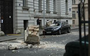 Tako so videti ulice Zagreba po včerajšnjem močnem potresu