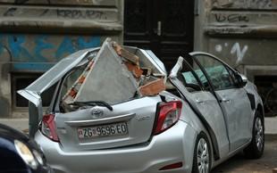 Poglejte si, kaj je v dnevni sobi ujela kamera sredi potresa v Zagrebu