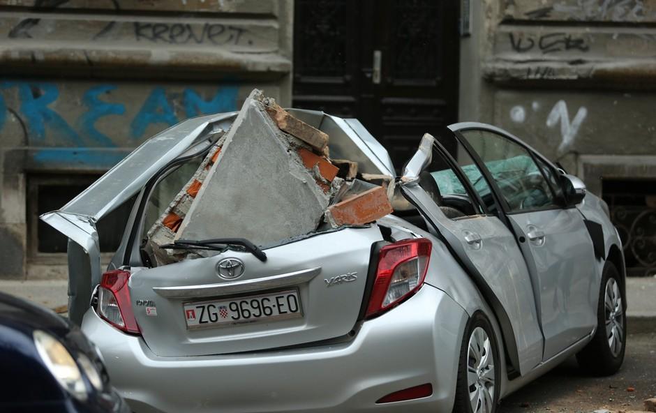 Poglejte si, kaj je v dnevni sobi ujela kamera sredi potresa v Zagrebu (foto: Profimedia)