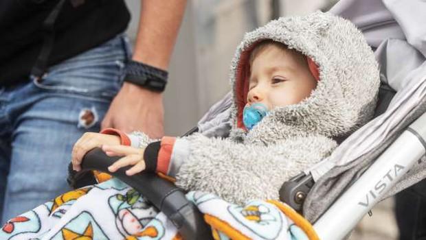 Mali Kris se je vrnil v Slovenijo (foto: STA/Bor Slana)