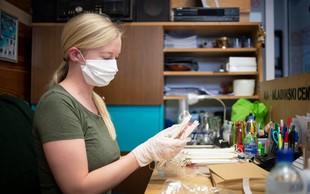 Poglejte si, kako lahko v eni minuti iz bombažne vreče naredite svojo zaščitno masko za obraz