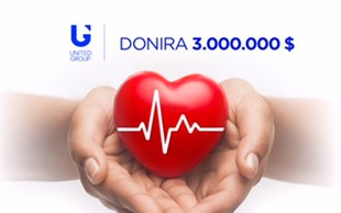 Skupina United Group za pomoč državam v regiji s 3 milijoni dolarjev