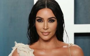 Kim Kardashian se je na skrivaj izmuznila iz hiše