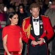 Princa Harryja in Meghan je govor kraljice zelo ganil