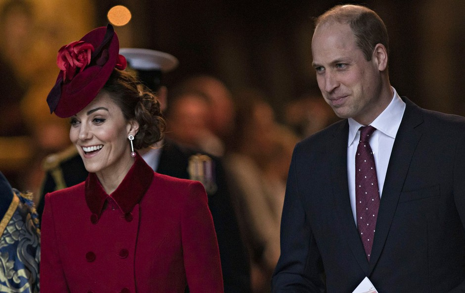 Poglejte si, s katero fotografijo sta princ William in Kate zaželela lepe praznike (foto: Profimedia)