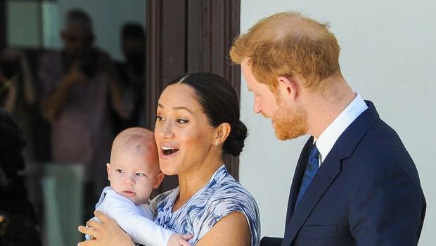 Izvedelo se je, zakaj sta princ Harry in Meghan Markle prikrivala podrobnosti o rojstvu malega Archieja (foto: Profimedia)