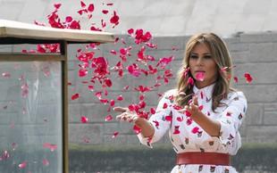 Pomladna modna kombinacija Melanie Trump, ki je pravi modni hit