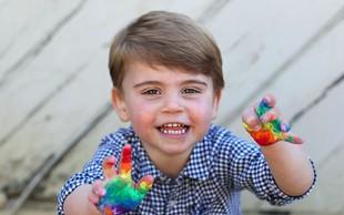 Mali princ Louis je edini otrok, ki je v resnici podoben Kate Middleton