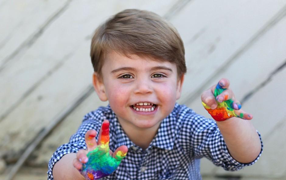 Mali princ Louis je edini otrok, ki je v resnici podoben Kate Middleton (foto: Profimedia)
