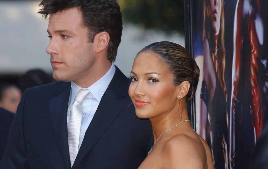 Jennifer Lopez in Ben Affleck: Par, ki dviguje veliko prahu, kličejo pa ju Bennifer (foto: Profimedia)