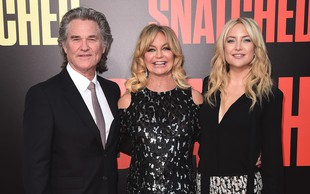 Goldie Hawn in Kurt Russell poznata formulo za srečno zvezo