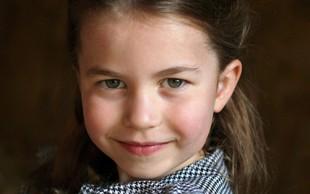 Ob petem rojstnem dnevu princese Charlotte je palača objavila ljubke fotografije, morate jih videti