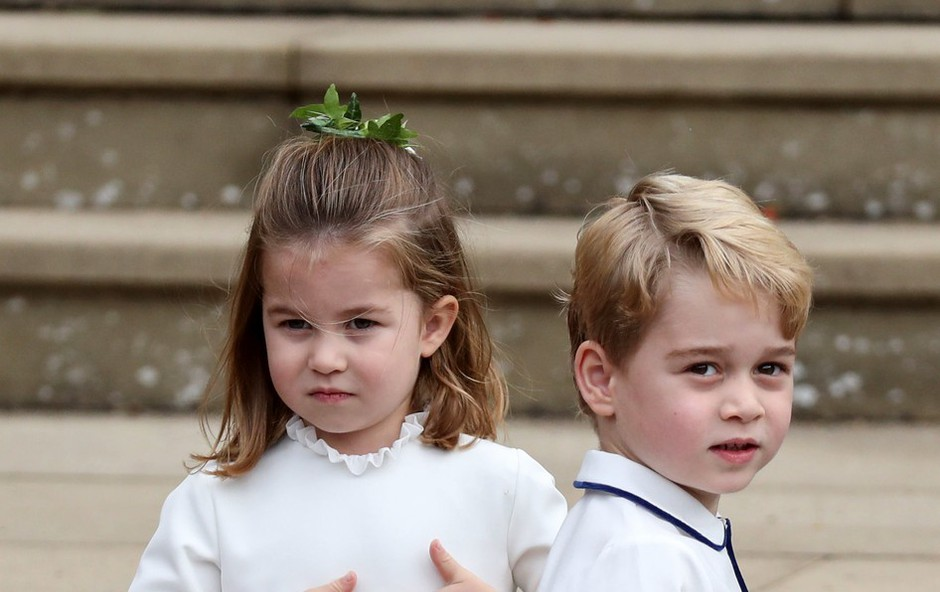 To so stroga pravila obnašanja, ki jih morata ves čas spoštovati princ George in princesa Charlotte (foto: Profimedia)