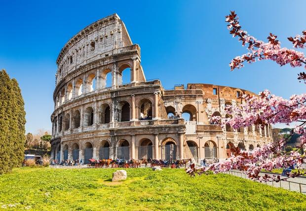 Kako si v času koronavirusa varno napasti oči na rimskem koloseju (foto: PROFIMEDIA)