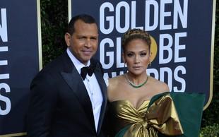 Jennifer Lopez objavila ljubke intimne trenutke z zaročencem Alexom Rodriguezom, večkrat jih boste pogledali