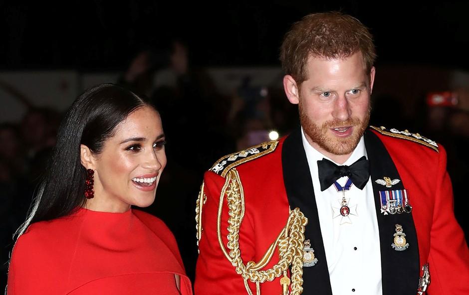 Meghan Markle in princ Harry že začela odplačevati kraljici prenovo njunega razkošnega britanskega doma (foto: Profimedia)