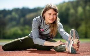 Vrhunska atletinja Maruša Mišmaš: Namesto olimpijskih iger študij in trening