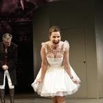 Iz predstave Šola za žene (foto: Foto: Damjan Švarc)