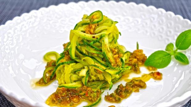 Recept za brezglutensko jed: Bučkini rezanci - zdravi in okusni (foto: Foto: Osebni Arhiv Špela Jereb Planinšek)